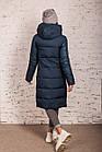 Удлиненное стильное пальто на женщин сезон 2020 - (модель кт-709), фото 3