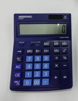 Калькулятор ASSISTANT АС-2377 (dark blue)