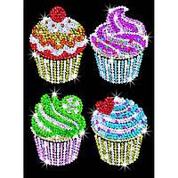 Набор для творчества Sequin Art BLUE Cupcakes (SA1130)
