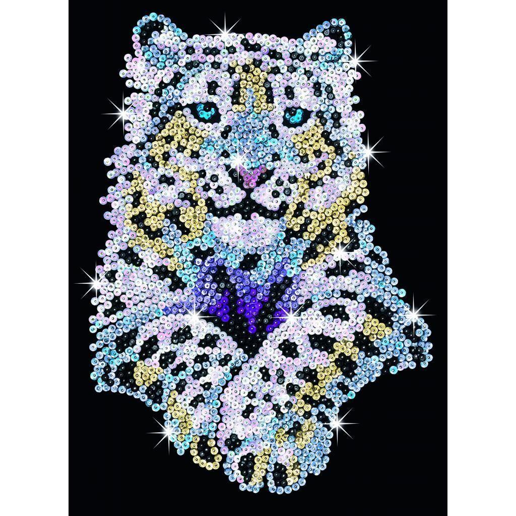 Набор для творчества Sequin Art BLUE Snow Leopard (SA1404)