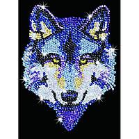 Набор для творчества Sequin Art BLUE Wolf (SA1215)