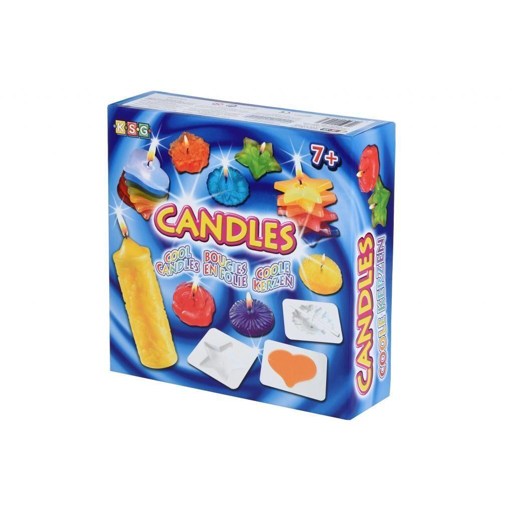 Набор для творчества Sequin Art CRAFTS Cool Candles (SA1023)