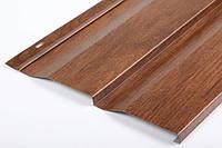 Фасадная панель - Корабельная доска золотой дуб 0.4 мм Юж.Корея