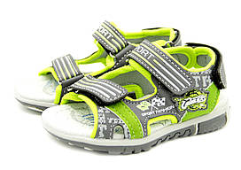 Сандалии Ok shoes 29 Серый 1300-3 grey-green - 29, КОД: 1137853