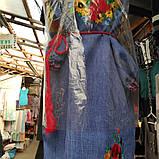 Стильное вышитое платье Маки, фото 2