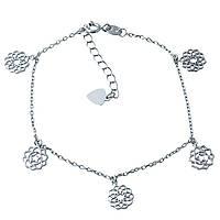 Серебряный браслет SilverBreeze без камней 1927458, КОД: 1194323