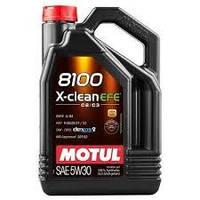 Моторное масло MOTUL 8100 X-clean EFE 5W-30 5л