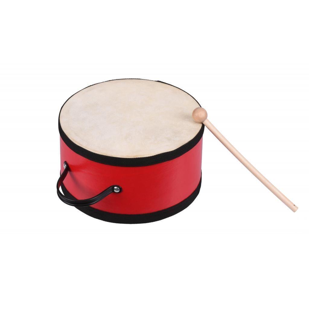 Музыкальная игрушка Goki Барабан с деревяной ручкой (UC018G)