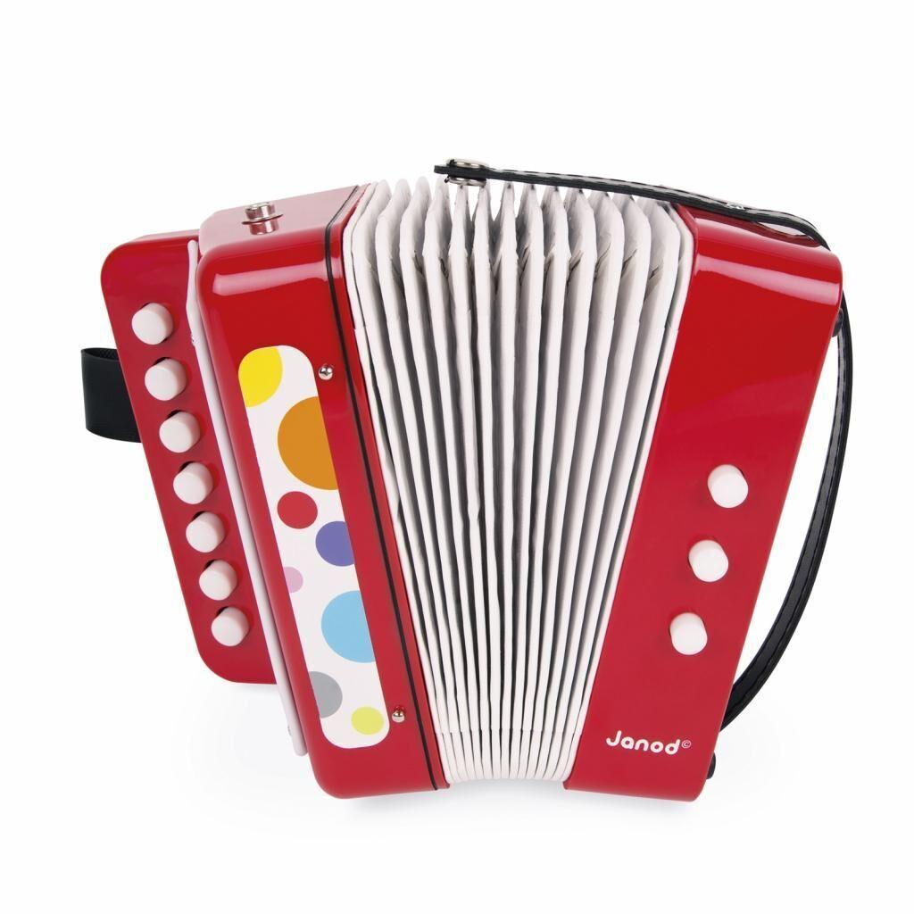 Музыкальная игрушка Janod Аккордеон (J07620)