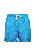 Мужские пляжные шорты IslandHaze Waves XXL Синий с белым isl0040, КОД: 1048795
