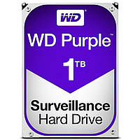 Жесткий диск Western Digital Purple 3.5 1TB WD10PURZ, КОД: 1247409