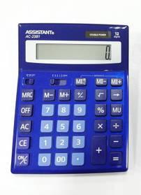Калькулятор ASSISTANT АС-2381 (dark blue)