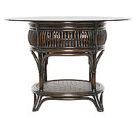 Кофейный столик Cruzo Дрим натуральный ротанг Кофейный ok0331, КОД: 743105