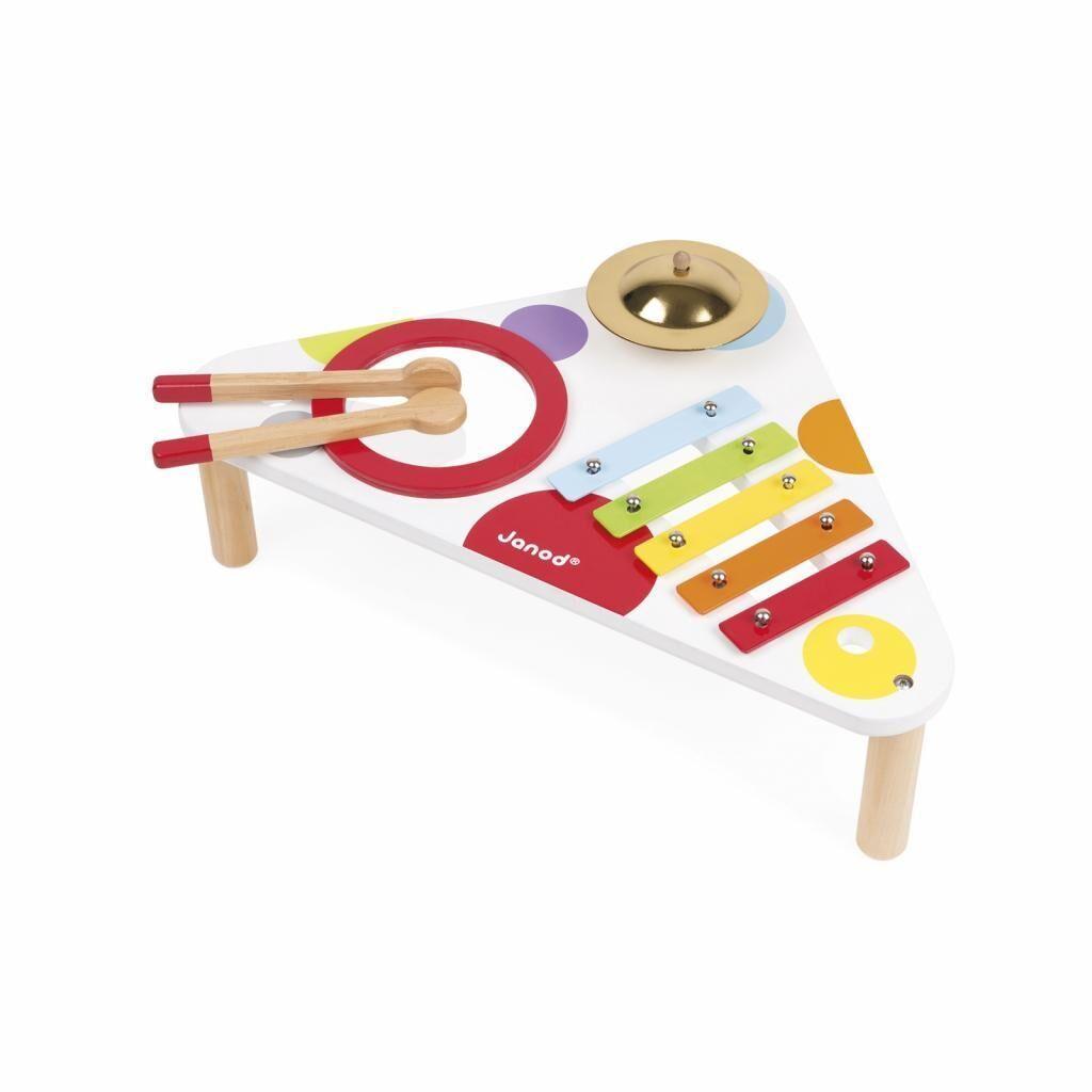 Музыкальная игрушка Janod Стол с ксилофоном (J07634), фото 1