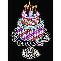 Набор для творчества Sequin Art ORANGE Birthday Cake (SA1506), фото 1