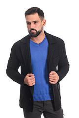 Трикотажный пиджак SVTR 48 Черный 389, КОД: 274580