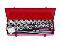 Набор торцевых головок и ключей KING TONY 3/4quot;DR, 25 предметов (6325CR01)