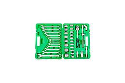 Набор инструмента Intertool - 1 2 38 предметов ET-6038SP, КОД: 1254009