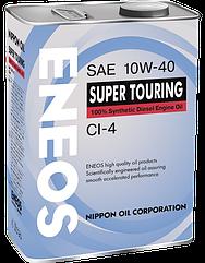 Моторное масло ENEOS CI-4 10W-40 4 л ENFS1040CI-4, КОД: 1217485