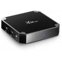 Медиаплеер Android Smart TV Box X96 Mini 2GB + 16GB FL-176, КОД: 1009872