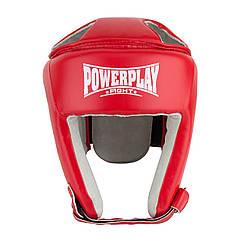 Боксерський шолом тренувальний PowerPlay 3084 S Червоний, КОД: 1213586