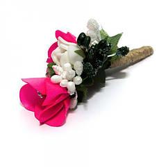 Бутоньерка Gofin Розовый Dzv-17014, КОД: 926256