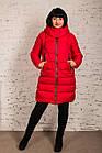 Пальто для женщин на экопухе сезон 2020 - (модель кт-015), фото 2