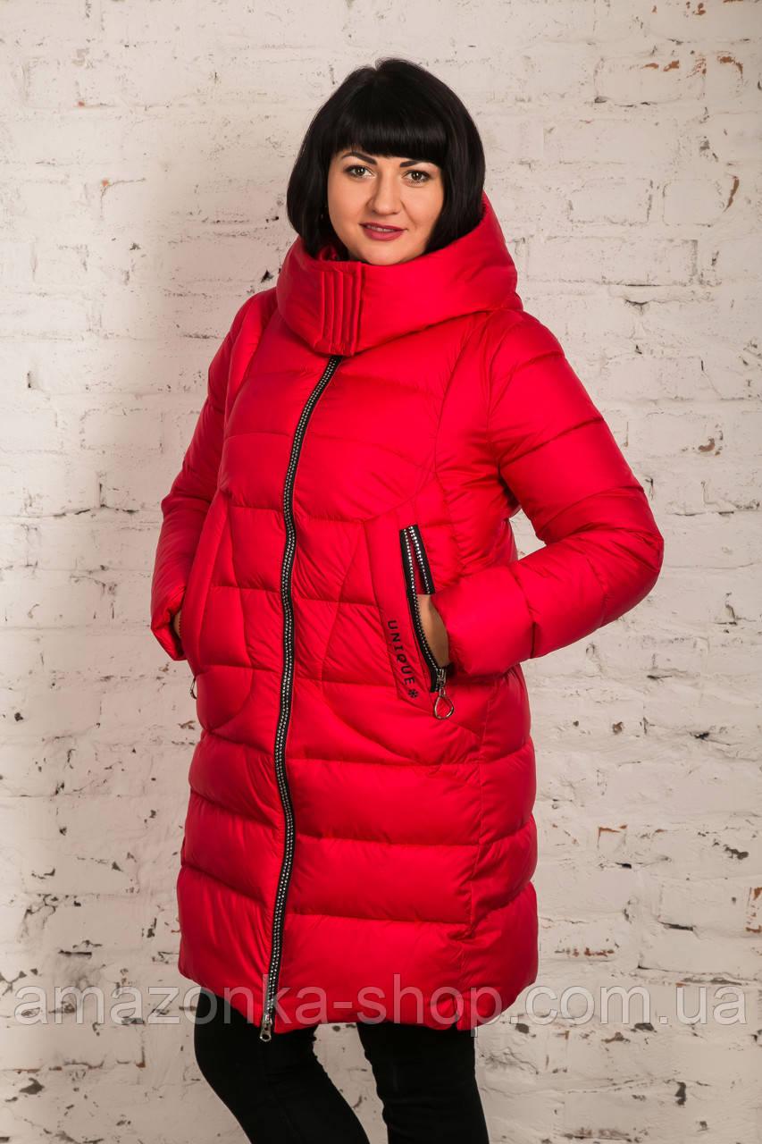 Пальто для женщин на экопухе сезон 2020 - (модель кт-015)