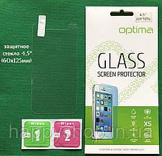 Универсальное защитное стекло 4.5 дюйма (60х125мм)