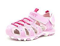 Сандалии BBT 24 15 см Розовый H1901-2 pink -24, КОД: 1203967