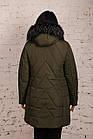 Женская куртка для женщин с экомехом на зиму сезон 2020 - (модель кт-696), фото 2