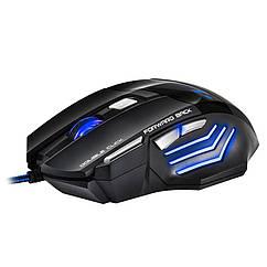 Мышь компьютерная IMICE X7 проводная Black 37-9678, КОД: 1174684