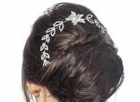 Весільний гнучкий гребінь нареченої (Арт. Гр-Про-08)