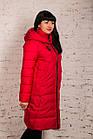 Женское удлиненное пальто для женщин на зиму сезон 2020 - (модель кт-011), фото 2