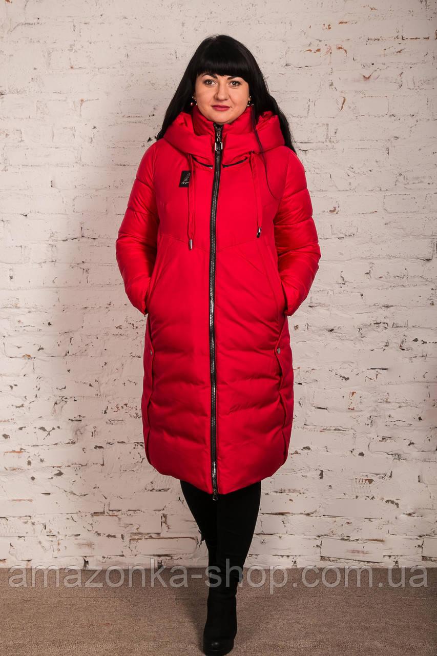 Женское удлиненное пальто для женщин на зиму сезон 2020 - (модель кт-011)