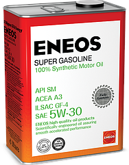 Моторное масло ENEOS SM 5W-30 4 л ENFS530SM-4, КОД: 1217490