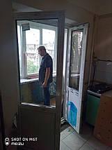Двері балконні 750*2100, фото 3