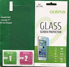 Универсальное защитное стекло 5 дюймов (67х136мм)