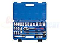 Набор торцевых головок и ключей KING TONY 1/2quot;DR 8-32 мм, 24 предмета (ST4028MR)