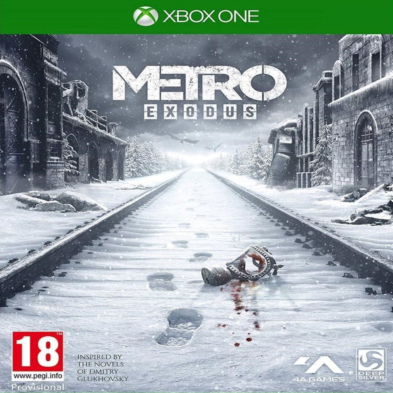 Metro Exodus RUS Xbox One (NEW)