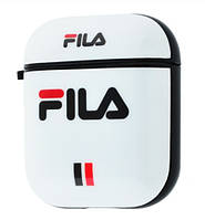 Чехол Grand Yang Style Case для Apple AirPods Fila White NC-21537-Fila, КОД: 1150338
