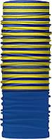 Зимовий бафф Бандана-трансформер Смужки Синьо-жовтий  ZBT-082-1, КОД: 131983