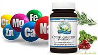 Витамины и минералы Супер комплекс (Super Complex) NSP США для взрослых и подростков 60 табл. Original