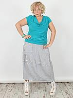 Женская юбка NadiN 1544 1 Серая 54 р 1544154, КОД: 1256481