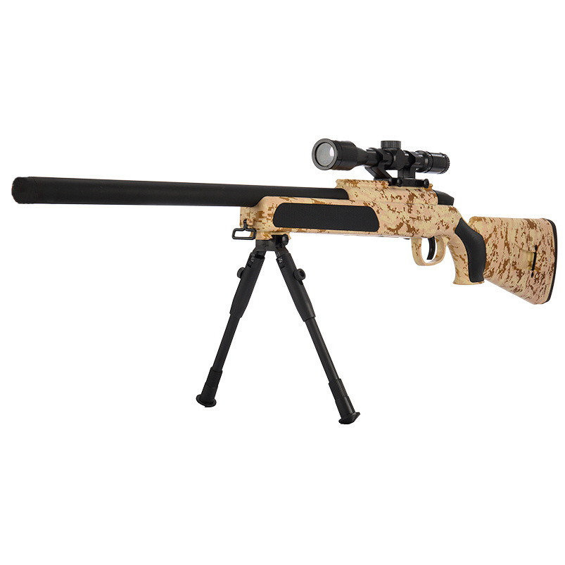 Автомат снайперська гвинтівка дитячий CYMA ZM51С з кульками і прицілом