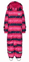 Зимний мембранный комбинезонLEGOWear(Дания) для девочки 80, 86 см сдельный розовый