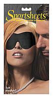 Маска на глаза Sportsheets Soft Blindfold Black SO2171, КОД: 1119600