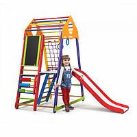 Детский спортивный комплекс для дома  BambinoWood Color SportBaby Plus 3