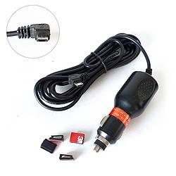 Зарядка AGS для видеорегистратора MicroUSB 1.5 Ампера левый