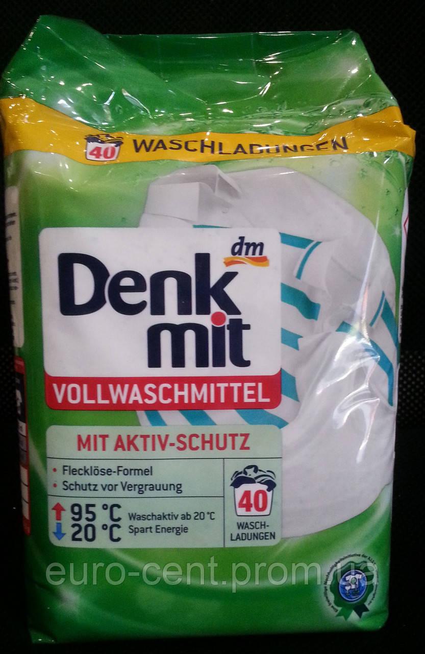 Стиральный порошок для белого белья Denkmit Vollwaschmittel (2.7 кг)